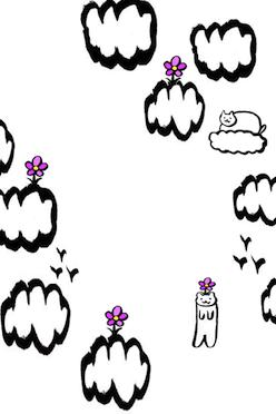 お花猫の冒険、iPhoneアプリ